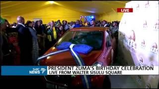 President Zuma keeps promise made to the late Ontlametse