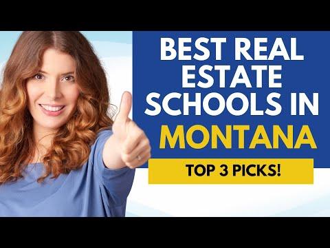 Best Online Real Estate Schools In Montana - 3 Top Montana Online ...