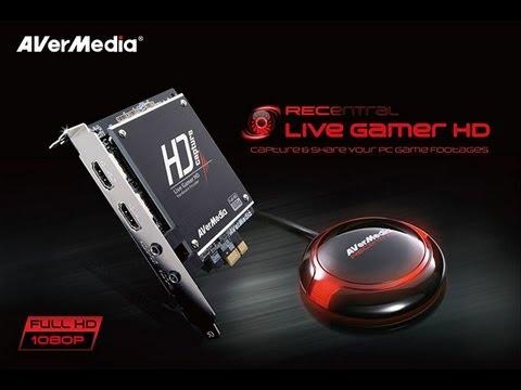 AverMedia Live Gamer HD Capture Card UNBOXING