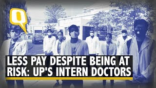Intern Doctors In UP Get Paid Even Lesser Than Daily Wage Workers