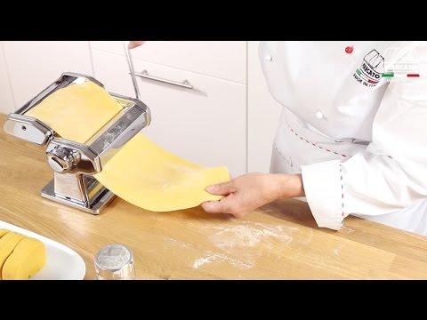 Hausgemachte Nudeln mit Marcato Atlas 150 Classic - Deutsch