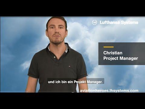 Eingebettetes Video for Christian, Projekt Manager