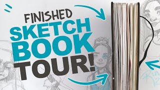 FINISHED SKETCHBOOK TOUR! (fyi: it's a lot of sketches)