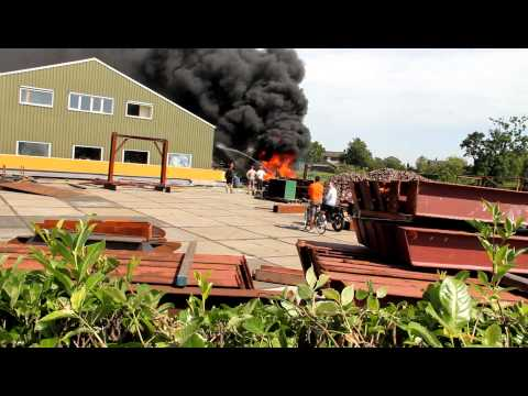Kleine brand in Vortum-Mullem