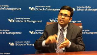 A YouTube video of the School of Management faculty member's research.
