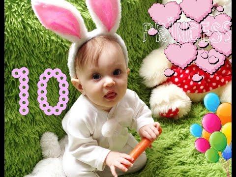 10 месяцев ребенку / десятый месяц Софи   PolinaBond