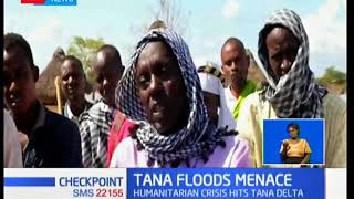 Flood victims in Tana River choose to return to flooded homes