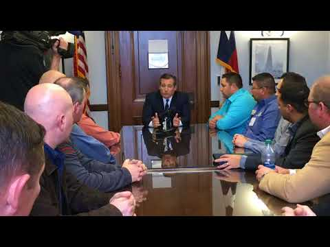 Sen. Cruz Meets with United Steel Workers - March 7, 2018