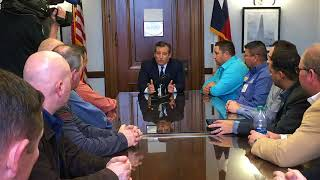 Sen. Cruz Meets with United Steelworkers - March 7, 2018