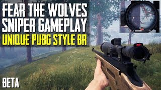 NEW Unique PUBG Style BR   Fear The Wolves SNIPER GAMEPLAY   Closed Beta   Squads
