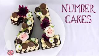 How To Make A Number Cake