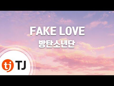 [TJ노래방 / 여자키] FAKE LOVE - 방탄소년단(BTS) / TJ Karaoke