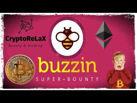 Buzzin bounty bot Bounty & Airdrop площадка для заработка в интернете без вложений