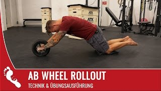 Ab Wheel Rollout | Richtige Technik (Tutorial)