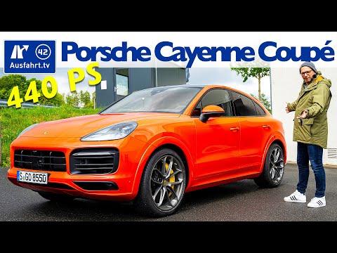 2020 Porsche Cayenne S Coupé Tiptronic - Kaufberatung, Test deutsch, Review, Fahrbericht Ausfahrt.tv