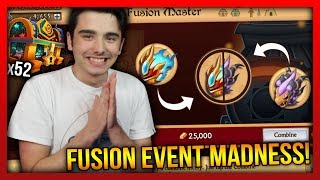 Knights and Dragons - FUSION EVENT MADNESS!! 52 Eagle Vision