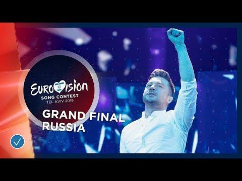 Russia - LIVE - Sergey Lazarev - Scream - Grand Final - Eurovision 2019 видео