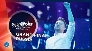 Russia   LIVE   Sergey Lazarev   Scream   Grand Final   Eurovision 2019