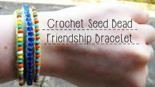 DIY Crochet Seed Bead Friendship Bracelet ¦ The Corner Of Craft