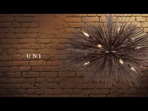 Video for Uni Tidepool Bronze Two-Light Wall Sconce