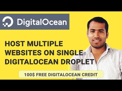 Host Multiple Websites on DigitalOcean Using Single Droplet