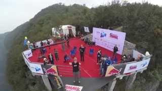 World Wingsuit League exit