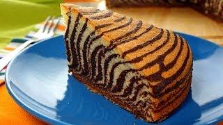 Ciasto Zebra | Smaczne-Przepisy.TV