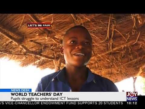World Teachers' Day- News Desk on JoyNews (5-10-18)