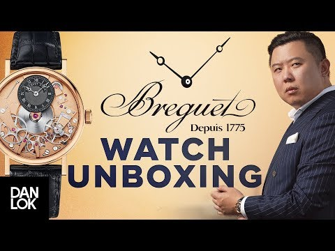 Unboxing $40,000 Breguet Watch