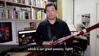 Bassoon Lesson - A Quick Tour