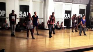 Chris Brown - Trumpet Lights | Choreography by: Dejan Tubic & Janelle Ginestra