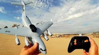 C17 Gyro Stabilized RC Airplane Can it Lift a 808 Keychain Camera?