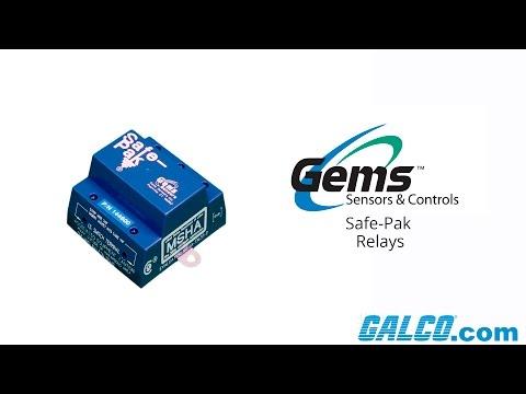 Gems Sensor's Safe-Pak Relays