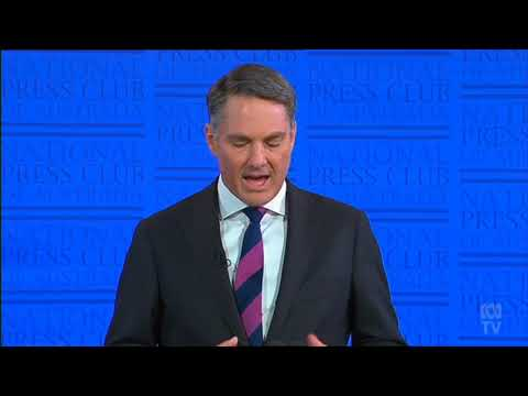 ADDRESS TO THE NATIONAL PRESS CLUB | THE RACE FOR THE JOBS OF THE FUTURE