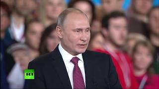 Путин на форуме действия ОНФ «Россия, устремленная в будущее»