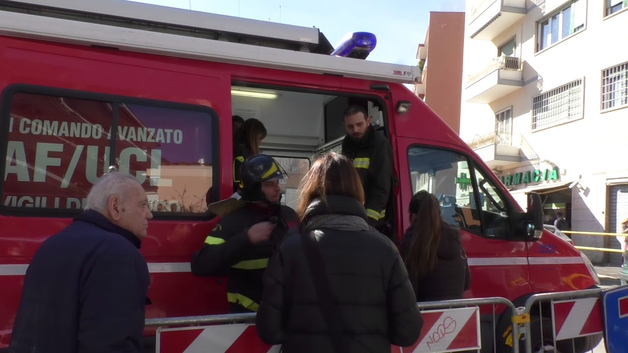Voragine a Roma in zona Balduina: evacuati i palazzi adiacenti