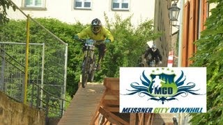 preview picture of video 'City Downhill Meißen 2013, der 5. Meißner Citydownhill'