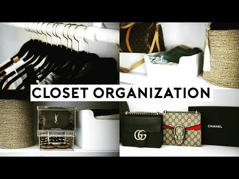 SMALL CLOSET ORGANIZATION HACKS &  AFFORDABLE STORAGE TIPS