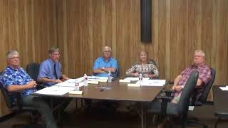 August 13, 2018 – City Council Meeting