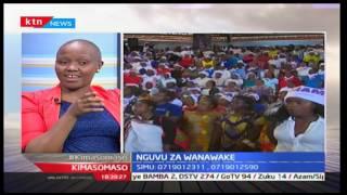 Kimasomaso: Nguvu za kike katika siasa; hakuna hata gavana mmoja wa kike, part 2