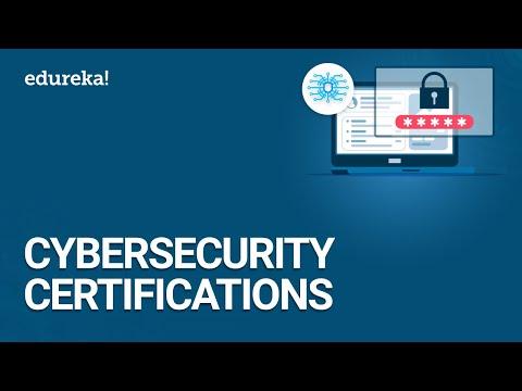 CyberSecurity Certification Training | Edureka - YouTube