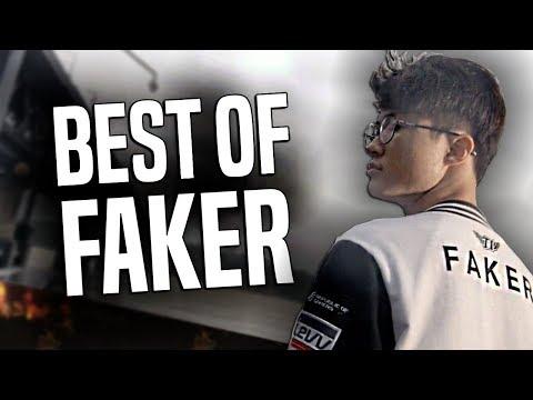 BEST OF FAKER MONTAGE - BEST PLAYER in The WORLD! (Best of SKT Faker Streams, Worlds, LCK 2017)