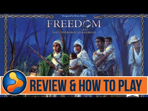 Freedom: The Underground Railroad Review & How to Play - GamerNode Tabletop