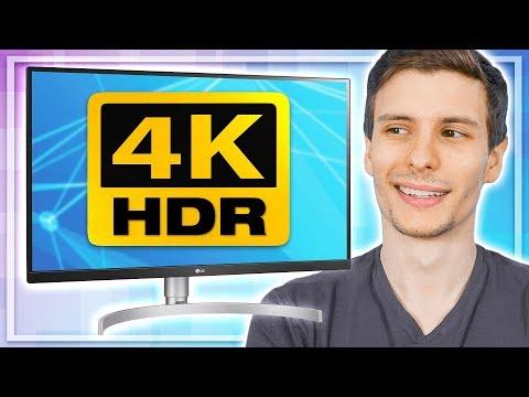 4K HDR Monitor Review: I FINALLY UPGRADED (LG 27UK850)