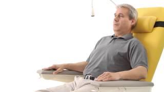 Многофункциональное кресло для проведения диализа, трансфузиологии и химиотерапии PURA от компании ТОО Искра Трэйдинг - видео