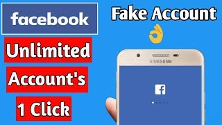 How To Make(Create) Unlimited Facebook Accounts Or Fake Account In 1 Second 2019 In Hindi
