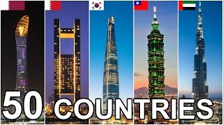 Tallest Buildings by Country Ranking 2017