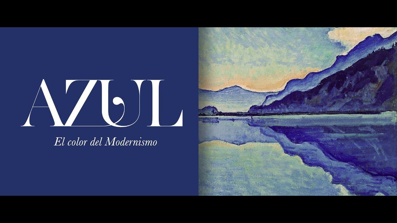 Azul. El color del Modernismo