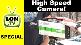 How a High Speed Camera Works! Playing with an IX Cameras iSpeed 7