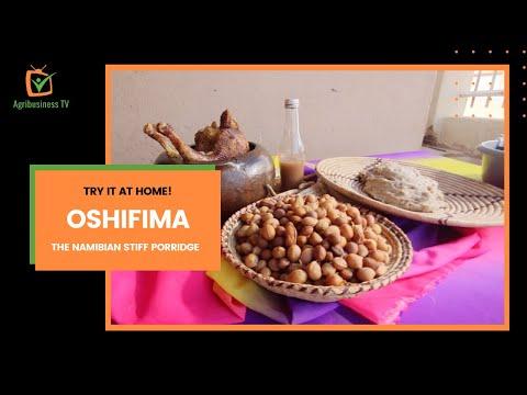 Try it at home: Oshifima , the Namibian stiff porridge Try it at home: Oshifima , the Namibian stiff porridge
